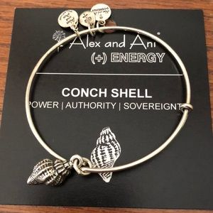 Alex and ani conch shell